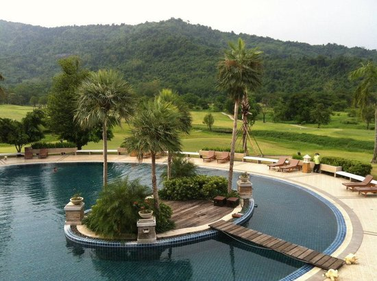 Royal Hills Golf Resort and Spa: view from balcony