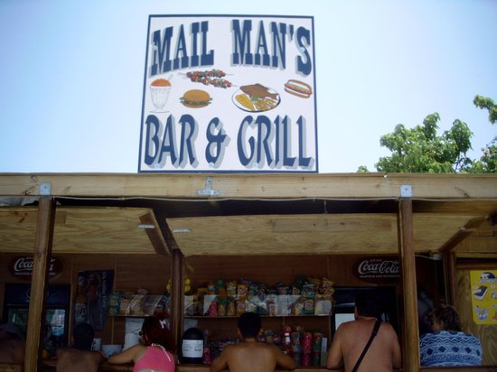 Mail Man's Grill and Bar : Front