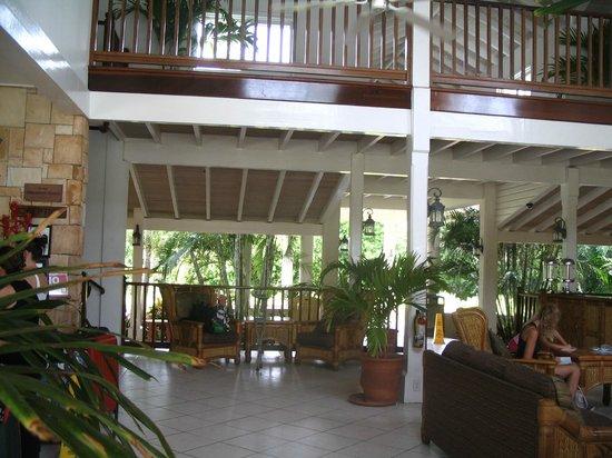 The Verandah Resort & Spa : Réception