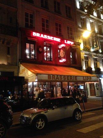 Brasserie Lipp : 夜