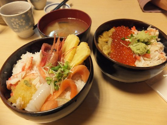 Donburichaya (Sapporo Shin-Nijoichiba): 注文した海鮮丼
