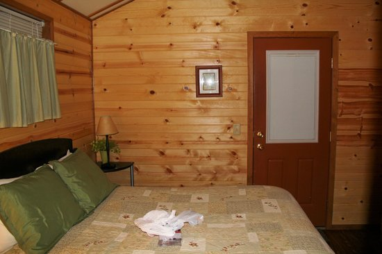 Emerald Forest Cabins & RV: Very comfortable interior