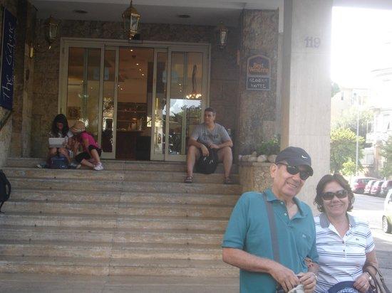Best Western Globus Hotel: A vista não tem importância,se passamos o dia fora.