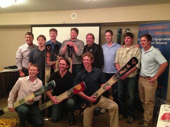 Black Tie Ski Rentals of Park City: Black Tie Crew & Meier Ski