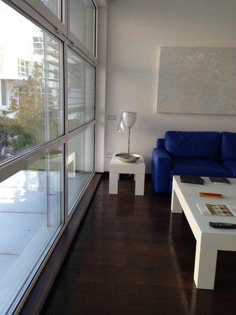 Magna Pars Suites: window view