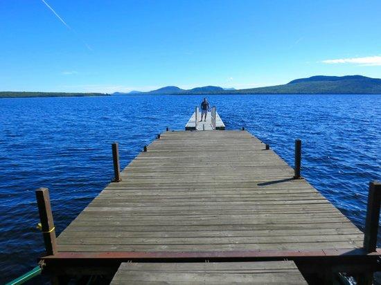 The Birches Resort : main dock of resort