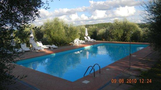 Agriturismo I Casalini: Pool area