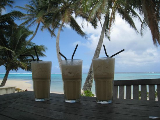 Sea Change Villas: Iced Coffees - Cook Islands