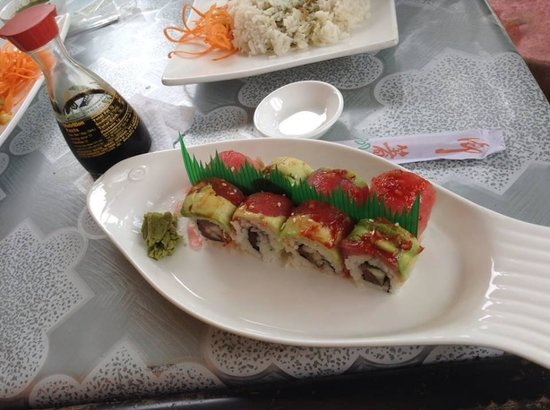 Parque Sushi: delicious sushi