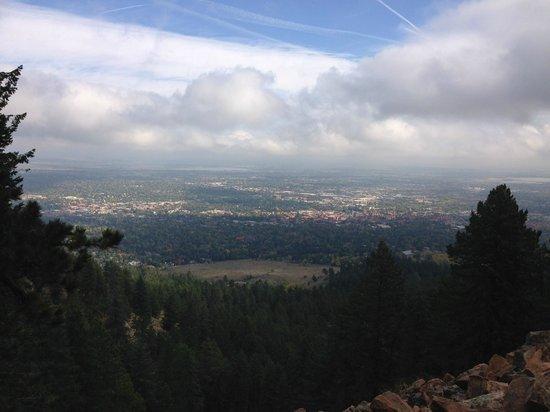Flatirons: View from Flatiron #1 trail.