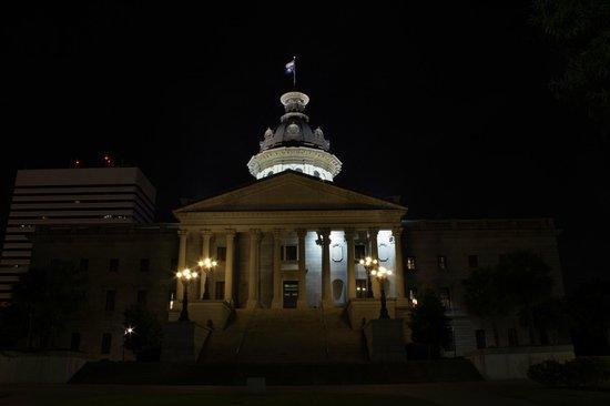 South Carolina State House : South Caroline Capital by Night