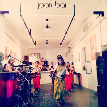 Jaan Bai Restaurant : The launch party - 17/10/2013