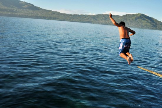Cinco Masao Beach Resort : diving area