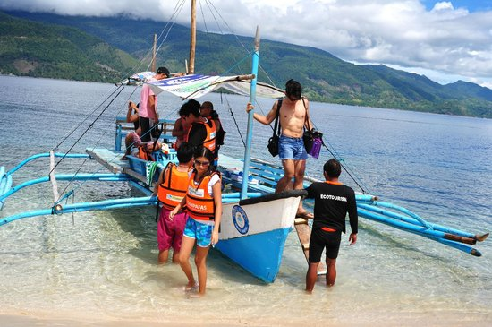 Cinco Masao Beach Resort: island hopping