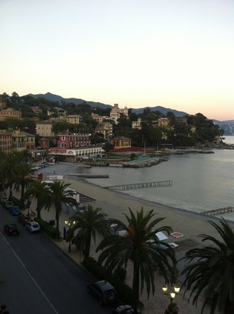 Lido Palace Hotel: View from our suite