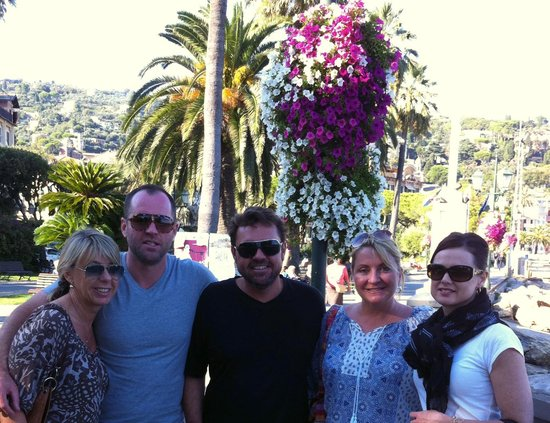 Lido Palace Hotel: Friends loving Santa Margherita
