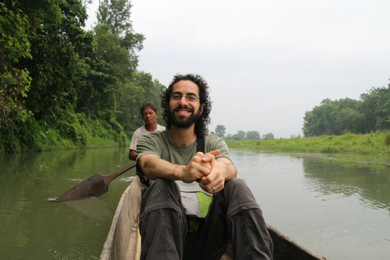 Hotel Parkside: Canoe tour