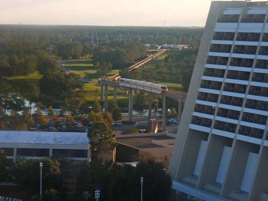 Bay Lake Tower at Disney's Contemporary Resort : View from living room