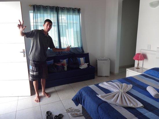 MARINA Vip Club Resort & spa: Quarto que ficamos