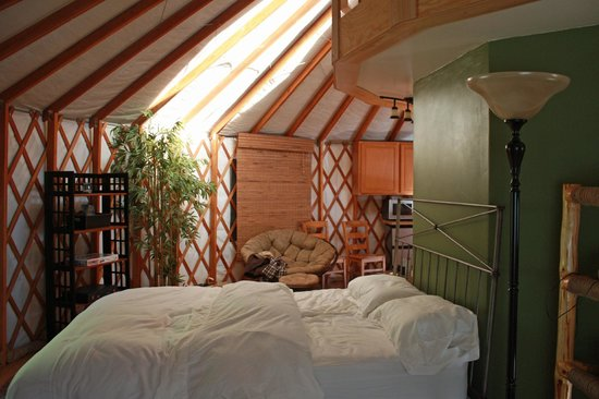 Strawhouse Resorts & Cafe: The Yurt!