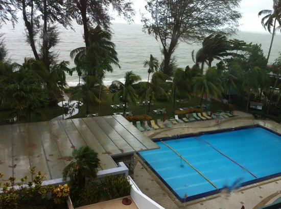 Holiday Inn Resort Penang: view from our room, on the 5th floor