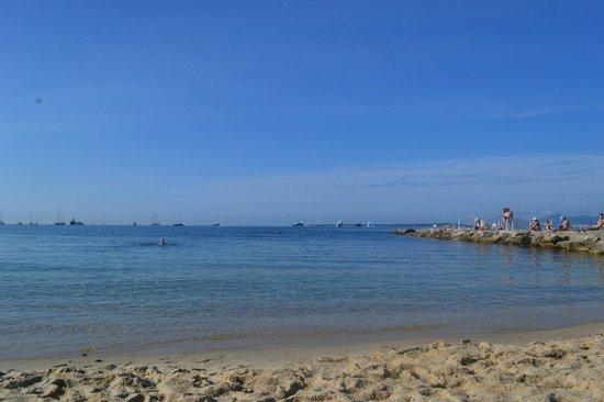 Juan les Pins Main Beach : Hermoso dia!!!!