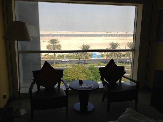 Hues Boutique Hotel : vista desde nuestra habitacion