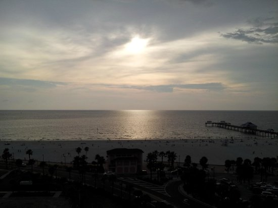 Magnuson Hotel Clearwater Beach: View from our room!