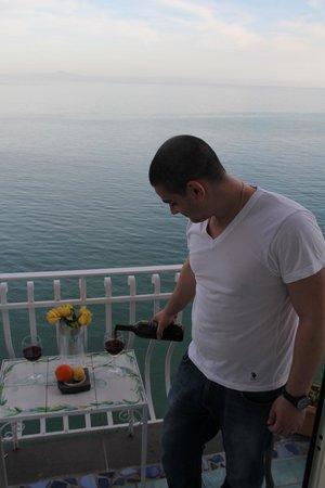 Hotel La Ninfa: balcony diner