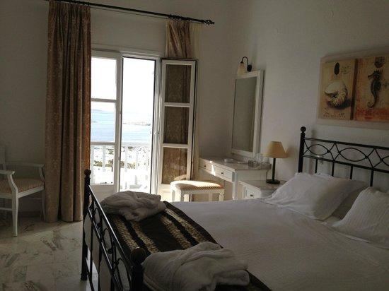 Hermes Mykonos Hotel : Clean rooms
