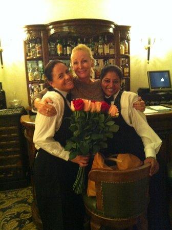 Hotel Savoy: Delightful staff