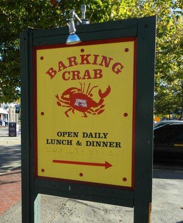 Barking Crab : bark.  bark. bark bark.