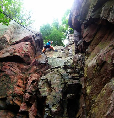 Apex Adventure Alliance - Day Tours: Fun time climbing the east bluffs!