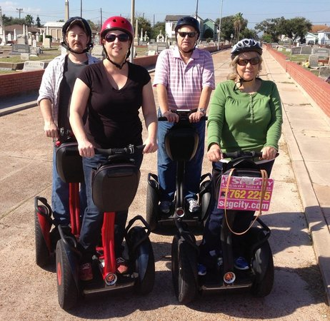 Segway Tours by SegCity: In the cemetery