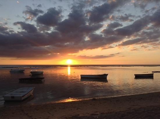 The Oberoi, Mauritius: sunset 2