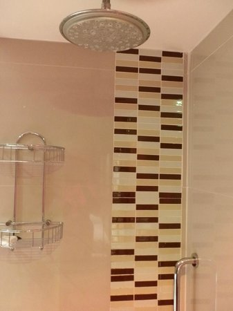 Protea Hotel Bloemfontein Willow Lake: shower