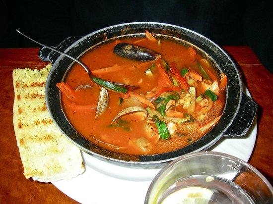Sockeye City Grill Seafood Restaurant: Seafood hot pot