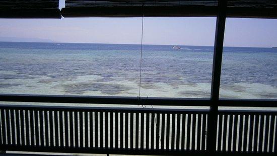 Bastianos Bunaken Dive Resort: Close enough for you!