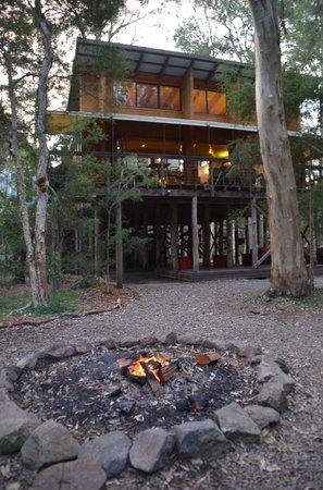 Paperbark Camp: restaurant