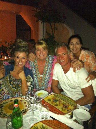 Ristorante Max: celebrating with friends
