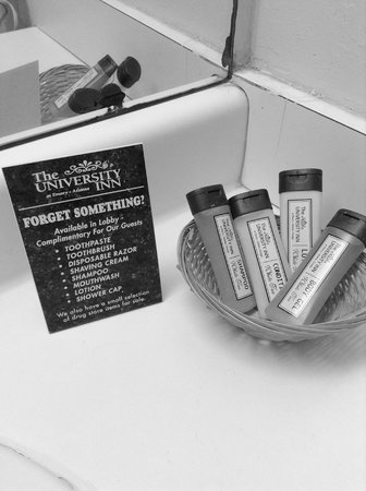 The University Inn at Emory: Complimentary Toiletries
