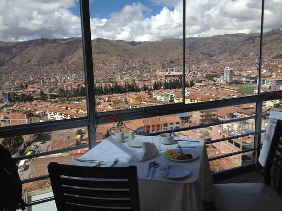 Wyndham Cusco Saqsayhuaman : City View From the Restaurant