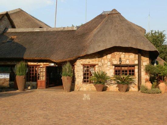 The Farm Inn: the main building