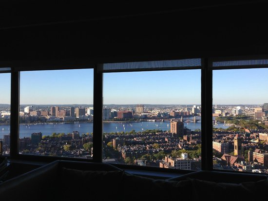 The Westin Copley Place, Boston: Incredible view