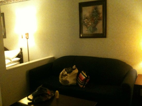 Country Hearth Inn: Room - Couch/Sitting area in King