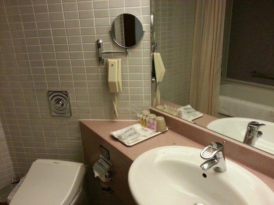 Brother Hotel Taipei: バスルーム