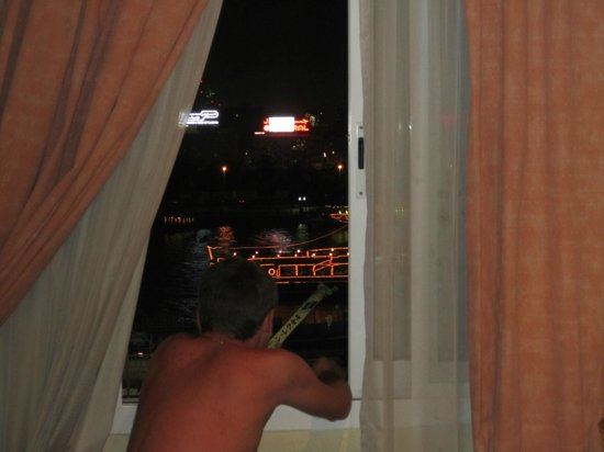 คาร์ลตัน ทาวเวอร์ โฮเต็ล: Вид из окна