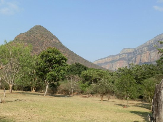 Blyde River Canyon Lodge: view of mountains