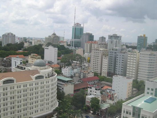 Caravelle Saigon : 部屋からの眺め