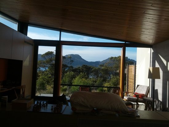Saffire Freycinet : View from the room